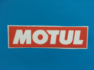 MOTUL sticker/decal x2